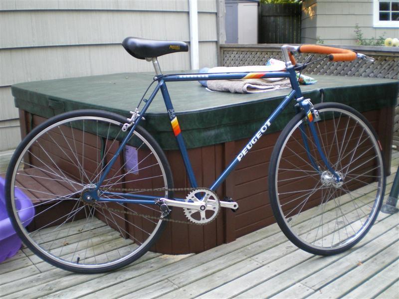 peugeot bike serial number location