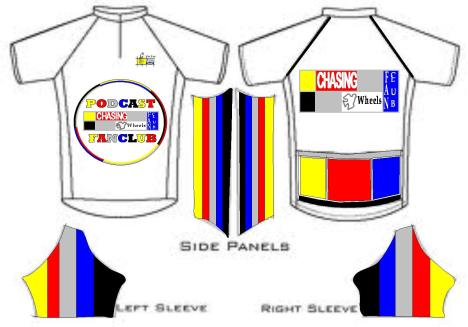 chasing legents cycling jersey