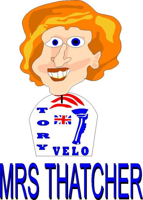 mrs thatcher of Tory Velo