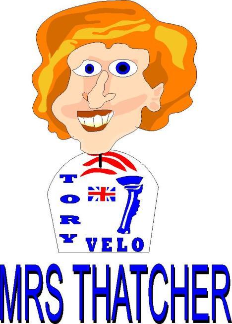 mrs thatcher of Tory Velo
