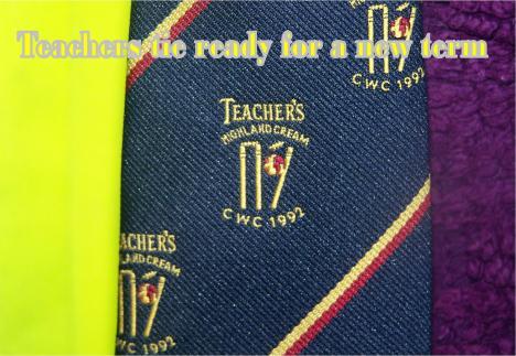 teachers tie