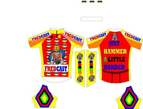 FREDCAST JERSEY