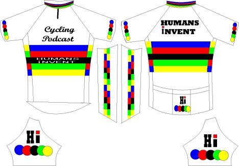 HUMANS iNVENT CYCLING JERSEY
