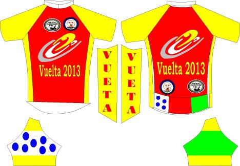 VELO CLUB DON LOGAN VUELTA JERSEY