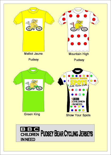 Pudsey Jerseys cycling