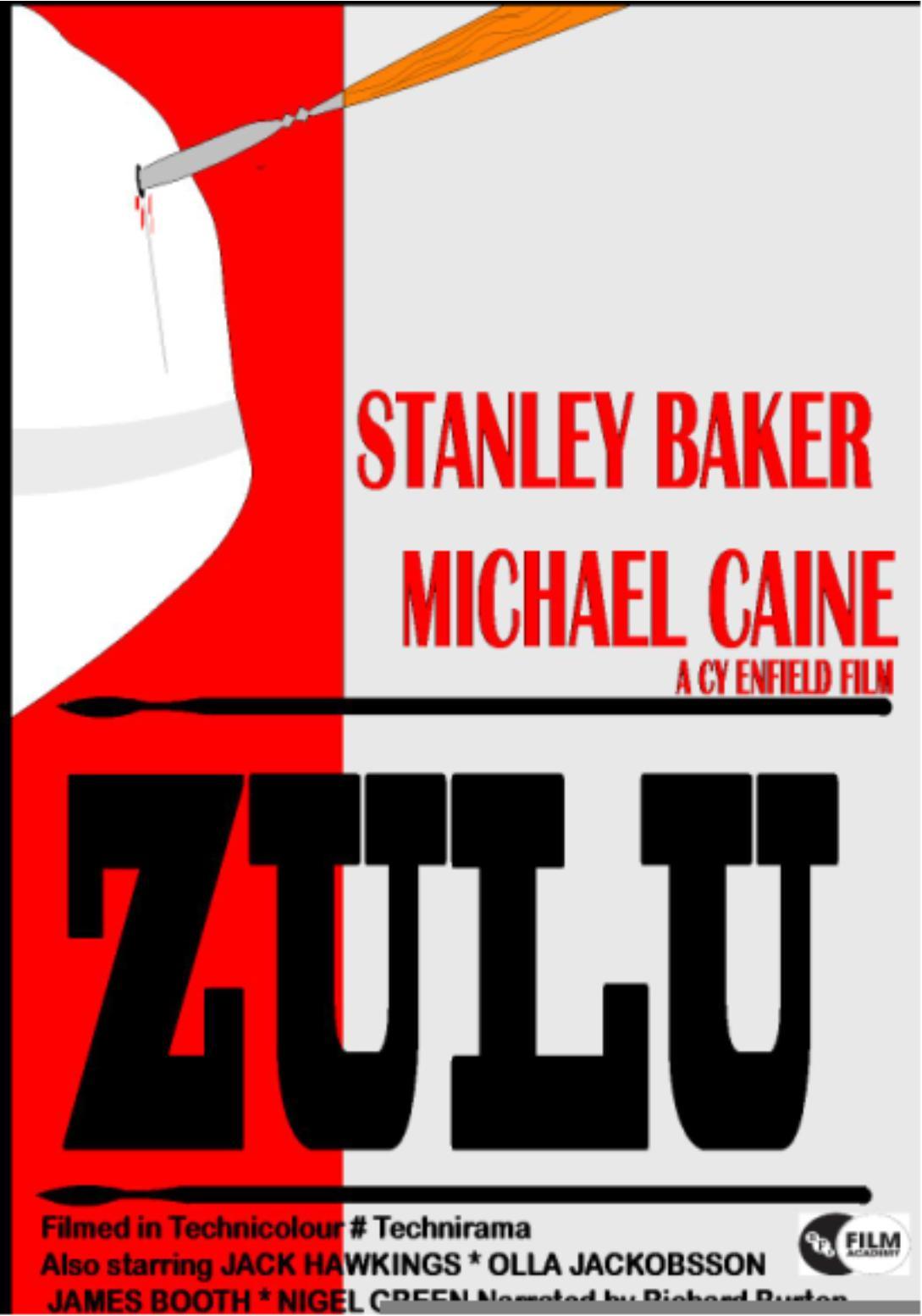 Zulu Film Poster Drawn Today At Adeyfield School Wwwfunrunrobbie