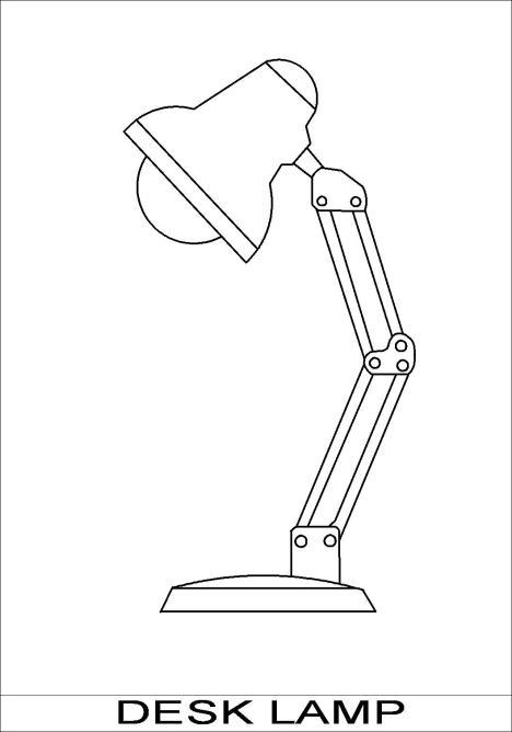 TECHSOFT 2D DESIGN LAMP