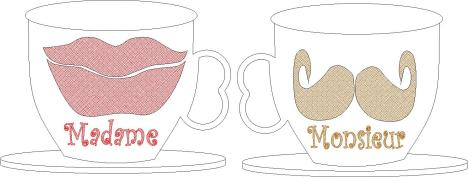 Cups H and H