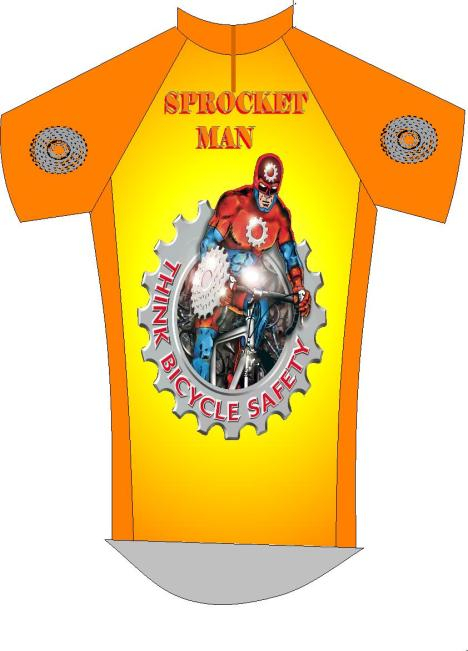 Sprocket Man cycling Jersey