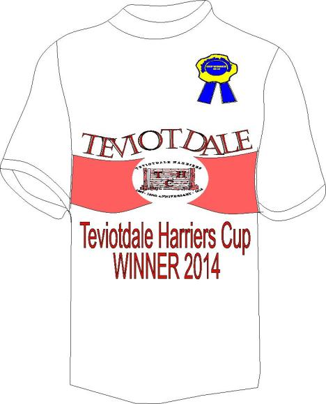 TEVIOTDALE HARRIERS CUP WINNER T-SHIRT