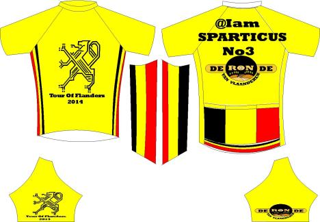 sparticus jersey