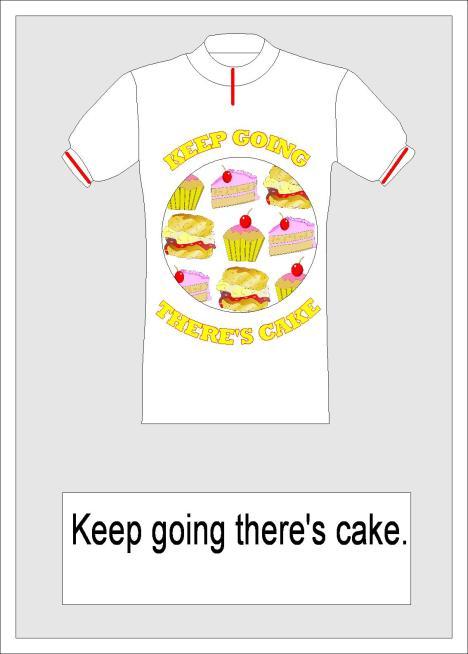 presentation cake jersey