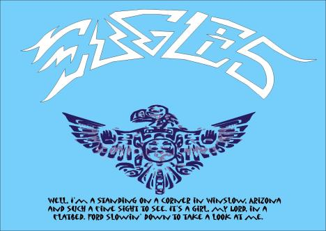 eagles tshirt