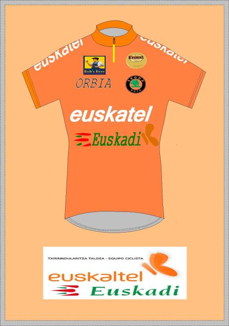 ORANGE BASQUE JERSEY