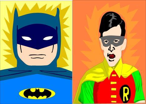 batman and robin kjk