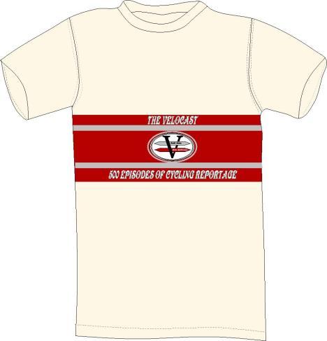 vvelocast 500 t-shirt