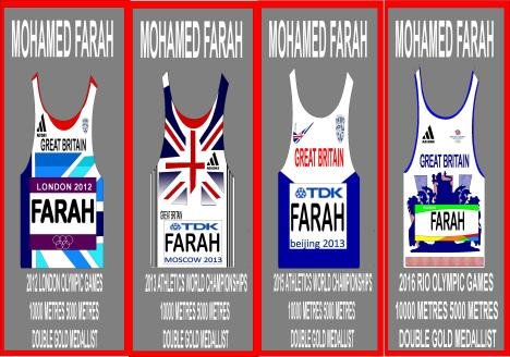 Mo farah 4 vests