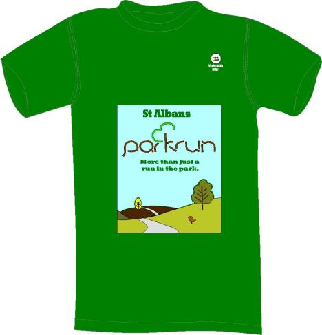 st albans park run tt shirt